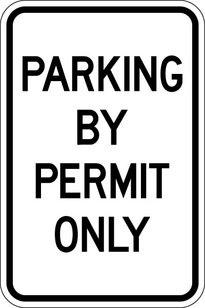 Laser Printable, 2.5 in. x 4.25 in. Pre-Printed Parking ...