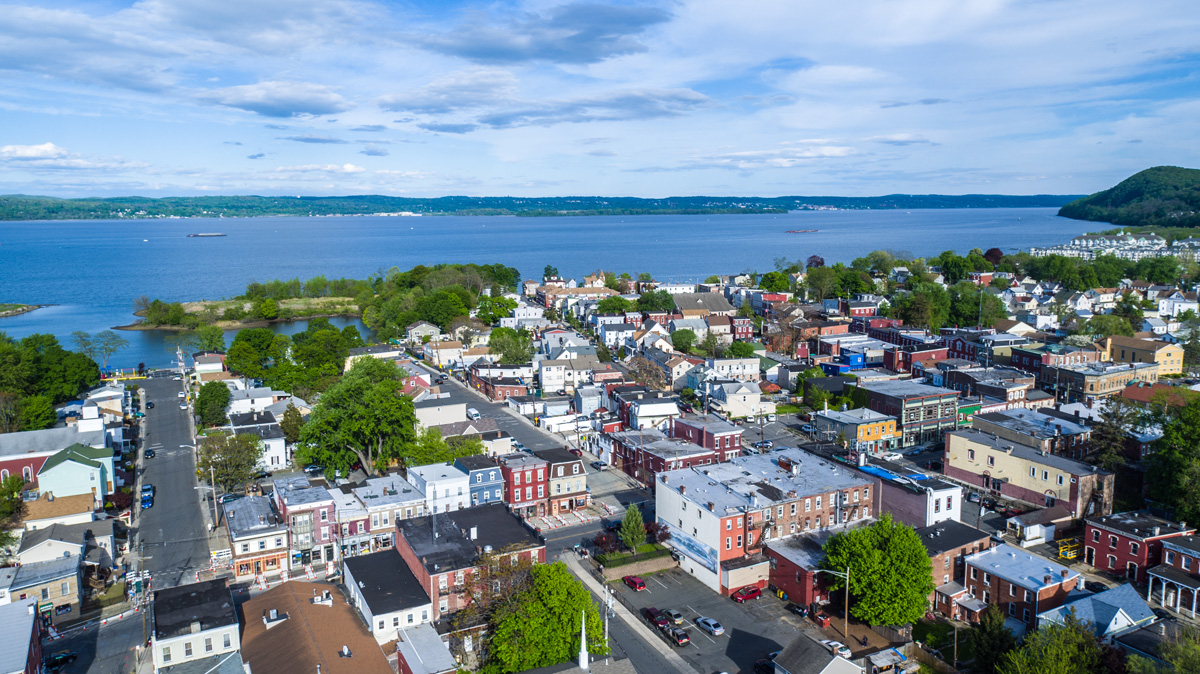 The Village Of Haverstraw New York Located On The Hudson