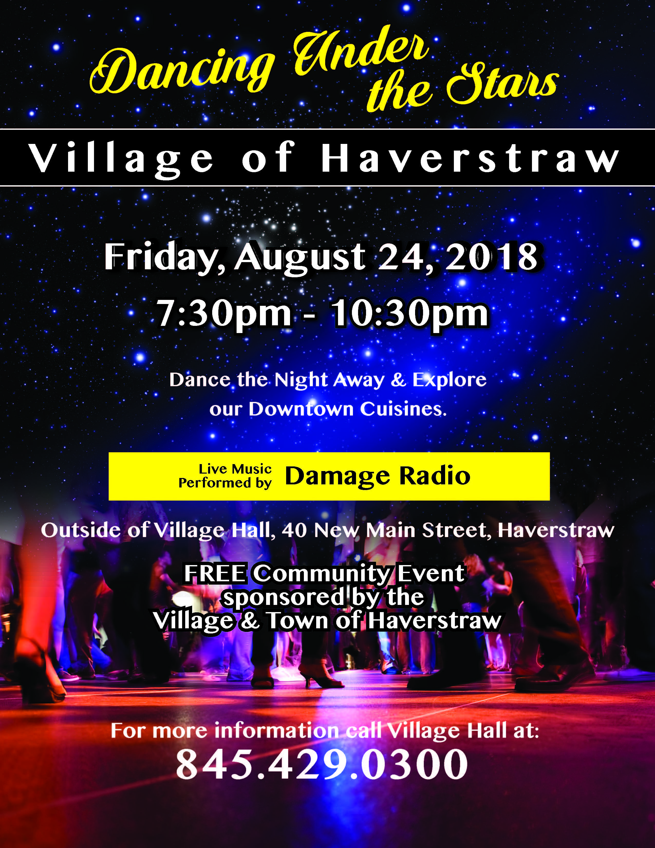 Dancing Under the Stars | The Village of Haverstraw New York